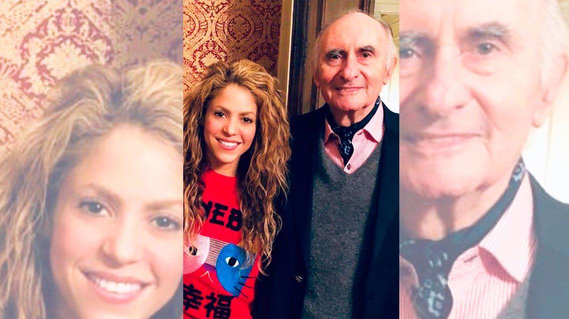 Shakira despidió a De La Rúa: Vuela hacia un lugar mejor, donde no haya traiciones