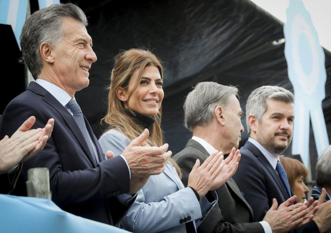 Junto a Pichetto, Macri celebró el Día de la Independencia en Tucumán