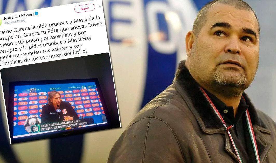 Chilavert defendió a Messi y le pegó duro al Tigre Gareca