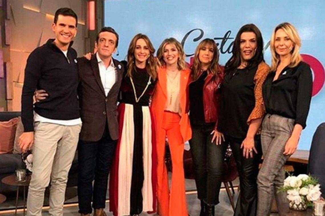 Varónica Lozano se fue de vacaciones y le dejó el programa a Laurita Fernández