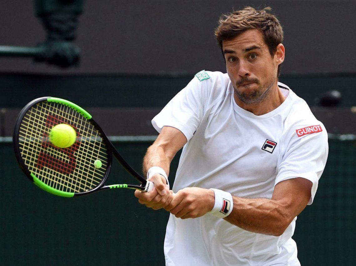 Pella no pudo contra Bautista Agut y se terminó su mejor Wimbledon