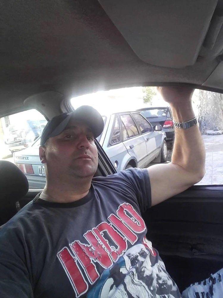 El hombre fue identificado como Adrián Cáceres