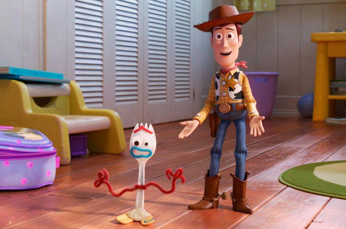 Disney retiró del mercado a Forky, el nuevo personaje de Toy Story 4
