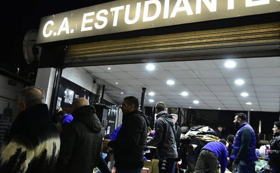 Estudiantes puso a disposición su estadio Ciudad de Caseros.