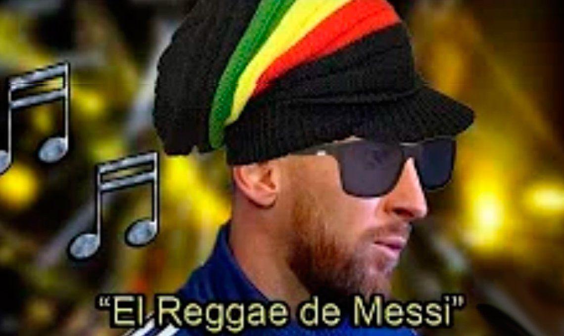 El genio del dub: Messi la rompe en un reggae contra la Conmebol que se hizo viral