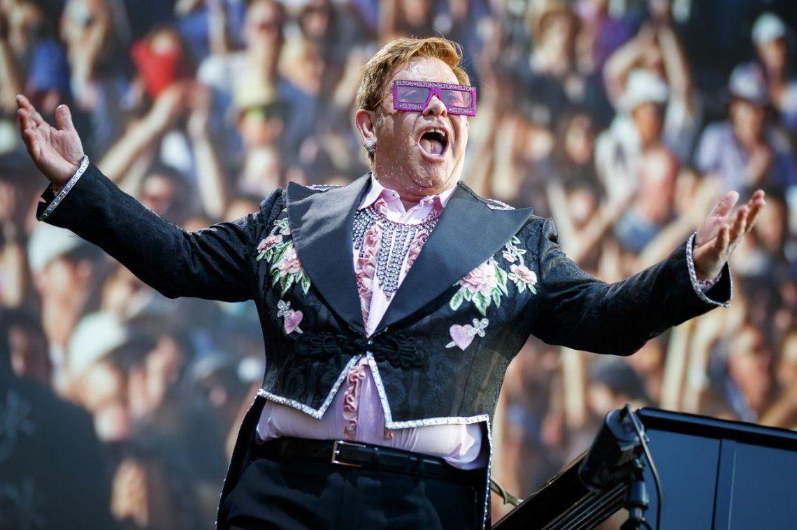 19 - Elton John |84 millones para Rocket Man