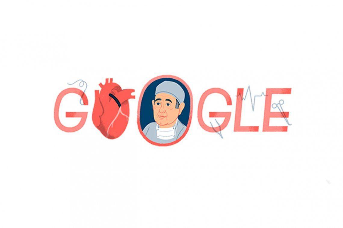 Google homenajea al doctor René Favaloro en el día de su nacimiento