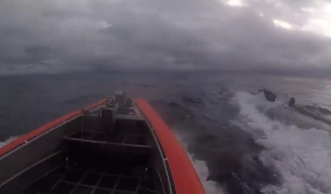 Estados Unidos: capturan narcosubmarino con más de una tonelada de cocaína en su interior