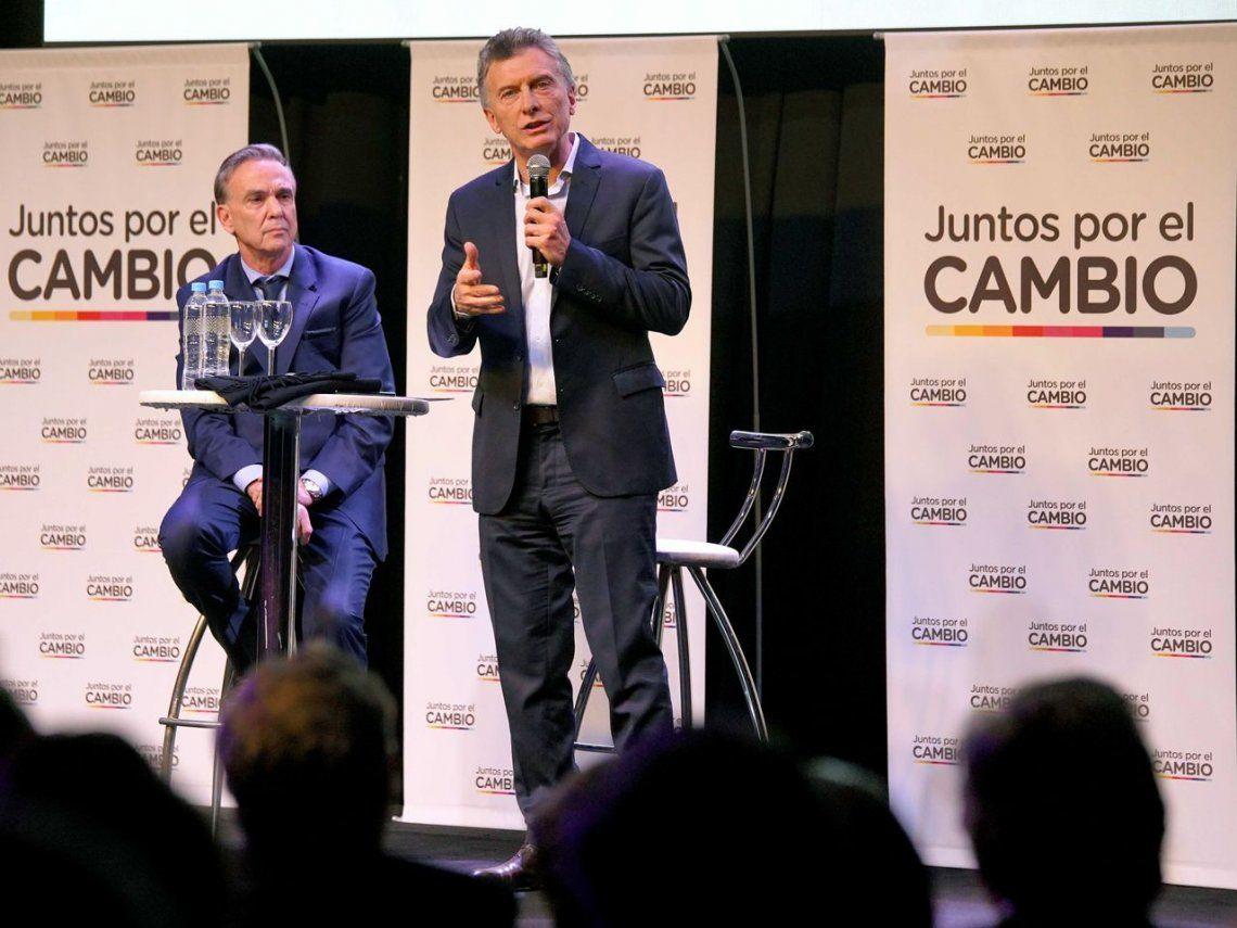Macri en campaña: No vamos a inventar cepos y a echarle la culpa a los demás