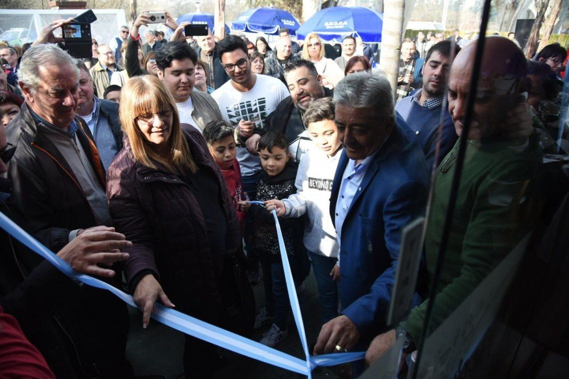 SEOCA inauguró obras en su complejo recreativo