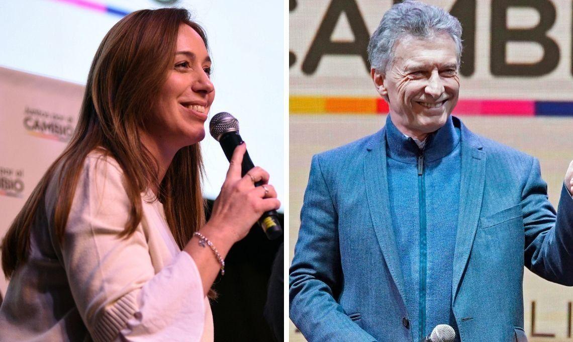 Mauricio Macri y María Eugenia Vidal ya están en campaña