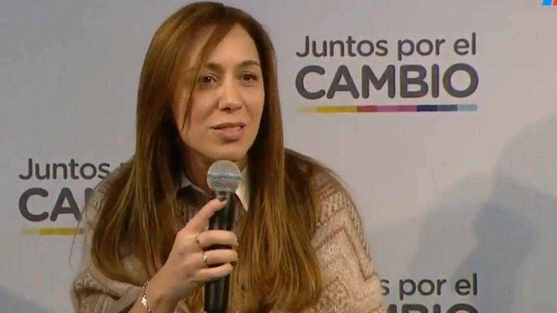 María Eugenia Vidal aumentó un 12,5% a los estatales bonaerenses