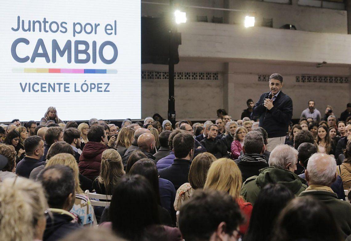 Elecciones 2019: Jorge Macri presentó a sus candidatos en Vicente López