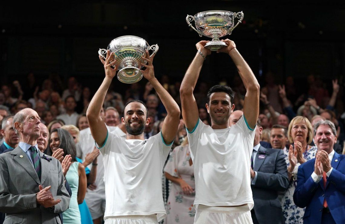 Colombia hizo historia en Wimbledon: Cabal y Farah vencieron a Mahut y Vasselin y se consagraron en el dobles