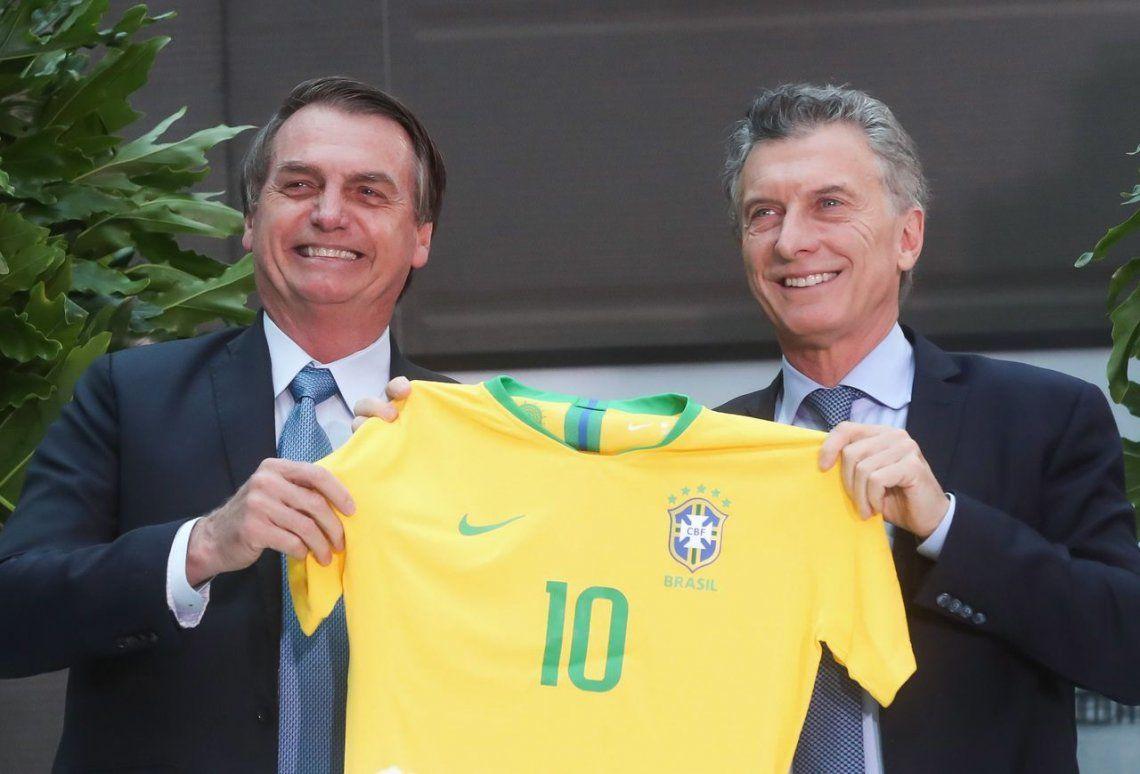 Bolsonaro apoya a Macri: No quiero que Argentina siga la línea de Venezuela