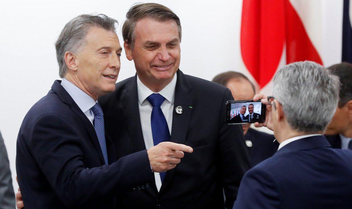 El presidente Jair Bolsonaro volvió a mostrarse en sintonía con su par argentino.
