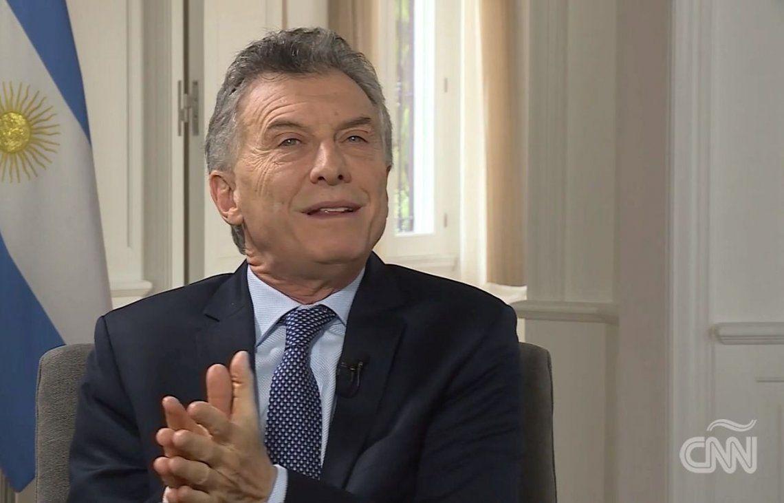 Macri en CNN: El mayor éxito económico es que la bomba no haya explotado del todo