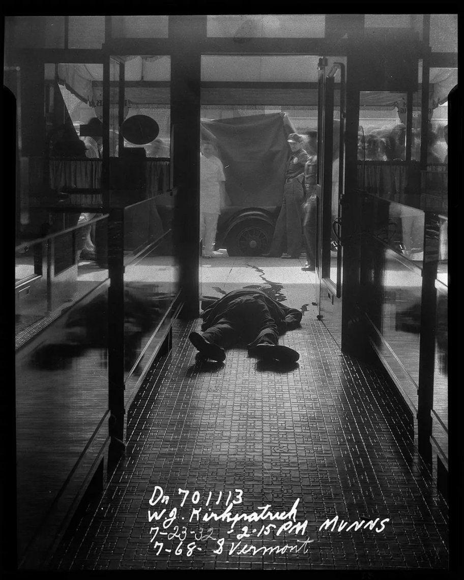 Robo en una joyería que resultó en la muerte de un transeúnte - 1932