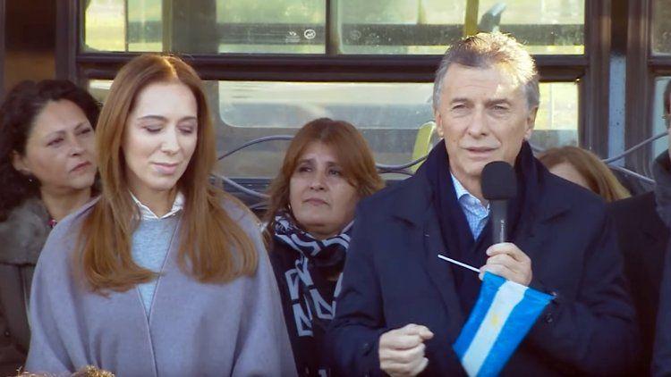 Macri elogió a Vidal: Se propuso cambiar la historia