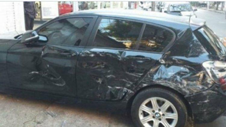 Al cuñado de Cinthia Fernández le destrozaron dos autos