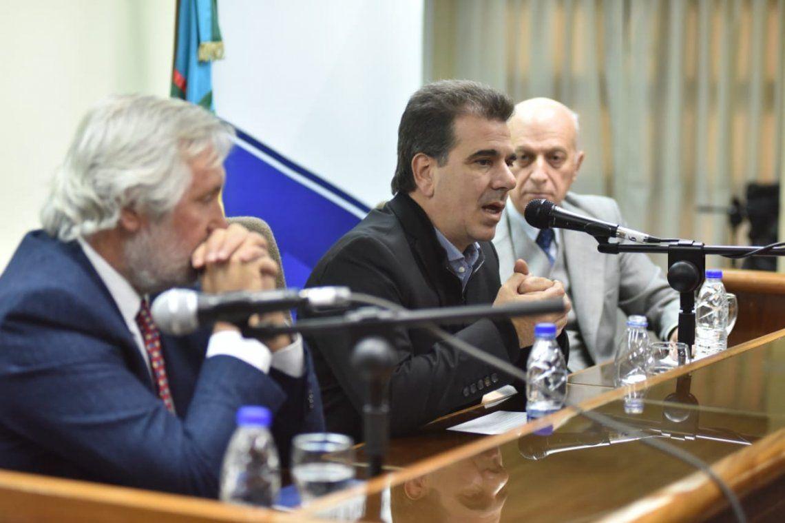 Ritondo participó de la primera mesa de trabajo integrada por autoridades de la justicia federal y provincial para combatir el narcotráfico
