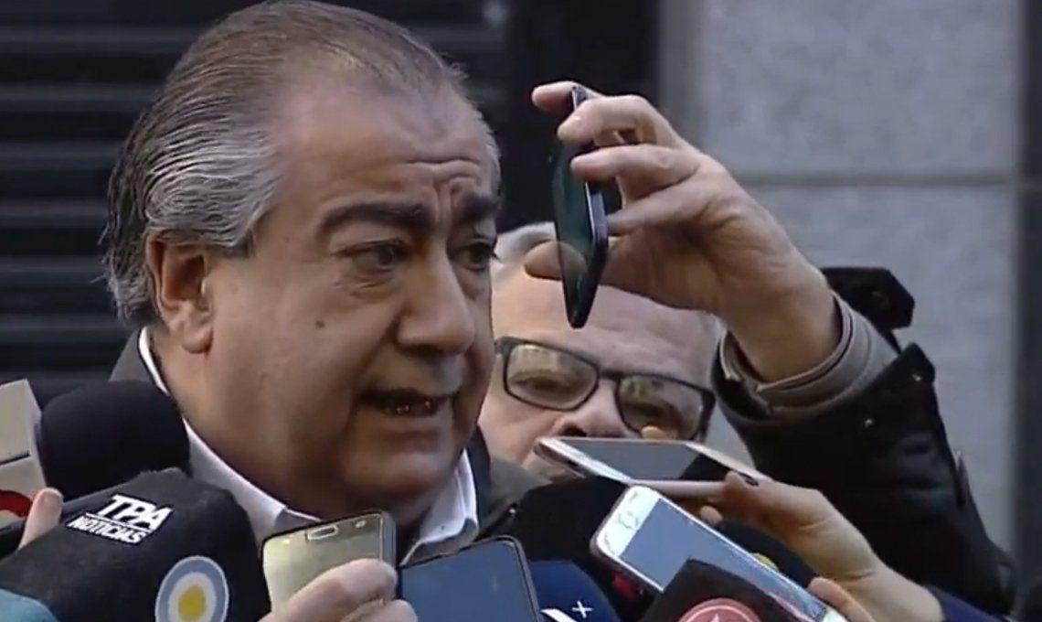 Héctor Daer descartó un paro contra Mauricio Macri: El Presidente tiene que gobernar hasta el 10 de diciembre e intentar que este país no desbarranque