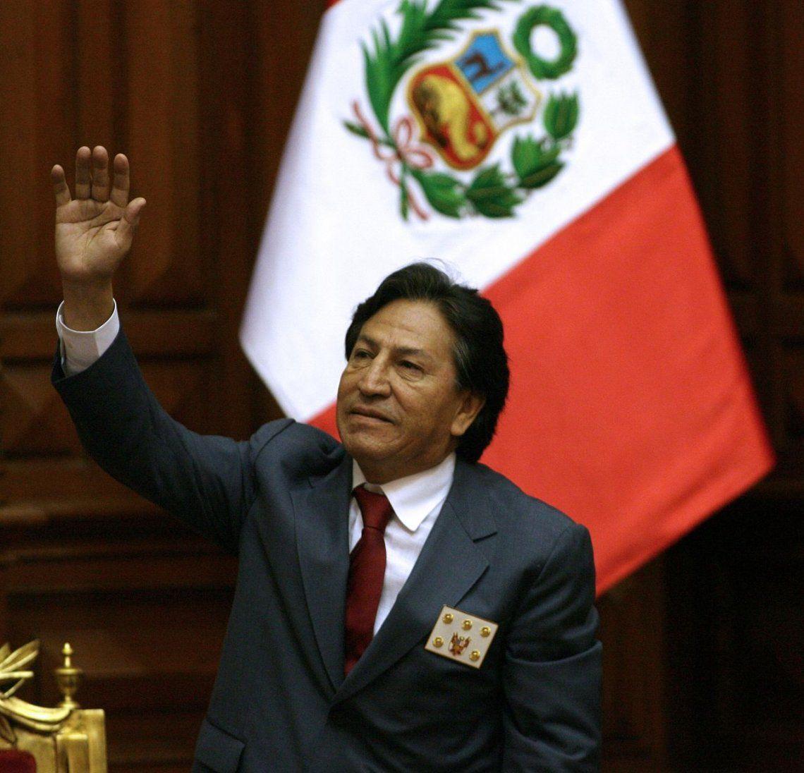 Alejandro Toledo, expresidente de Perú, fue arrestado en Estados Unidos por el Caso Odebrecht