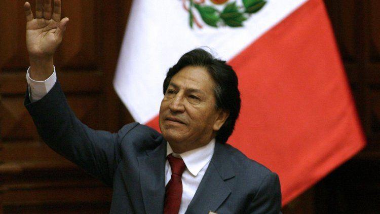Alejandro Toledo, expresidente de Perú, fue arrestado en Estados Unidos