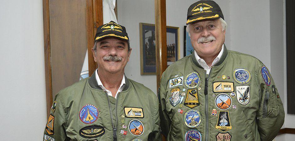 Veteranos Sánchez y Cervera, Malvinas