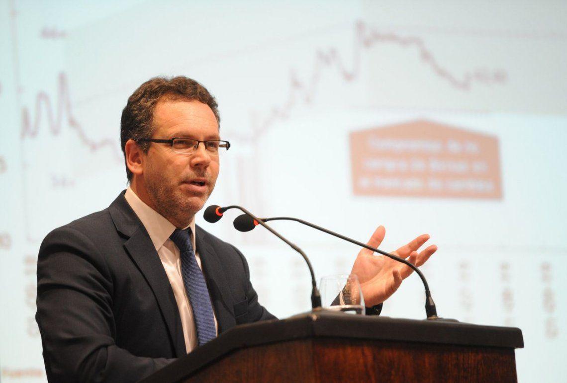 Sandleris: La inflación sigue alta pero está bajando
