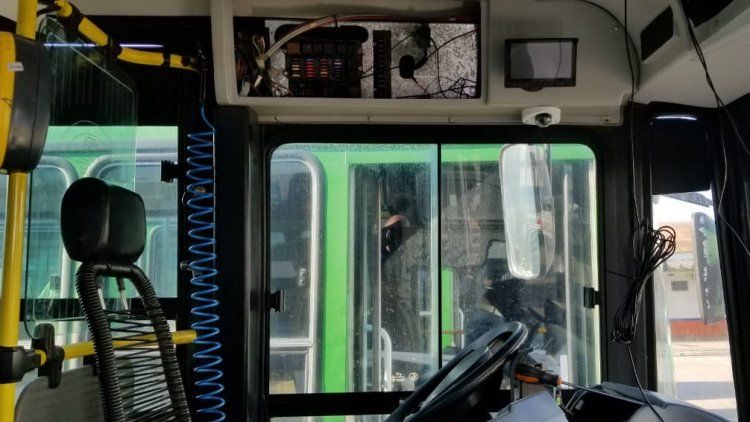 Las cámaras poseen tecnología Full HD que permite obtener imágenes nítidas tanto del interior como del recorrido.