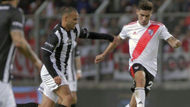 Sufrió y pasó: River derrotó a Gimnasia de Mendoza desde los dos pasos