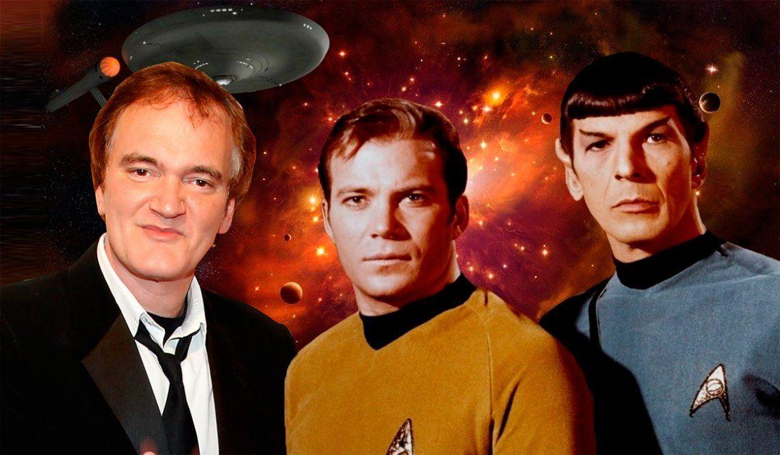 Quentin Tarantino vuelve a coquetear con un retiro a bordo de la Enterprise
