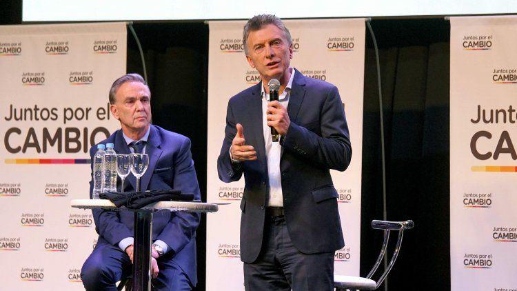 Macri y Pichetto, protagonistas del cierre múltiple oficialista.
