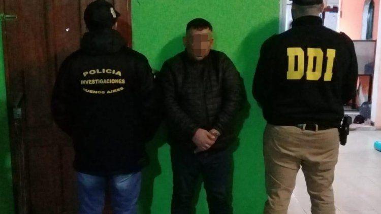 El detenido es el ex convicto y barra de Tristán Suárez, Jorge Alberto Karmazin.