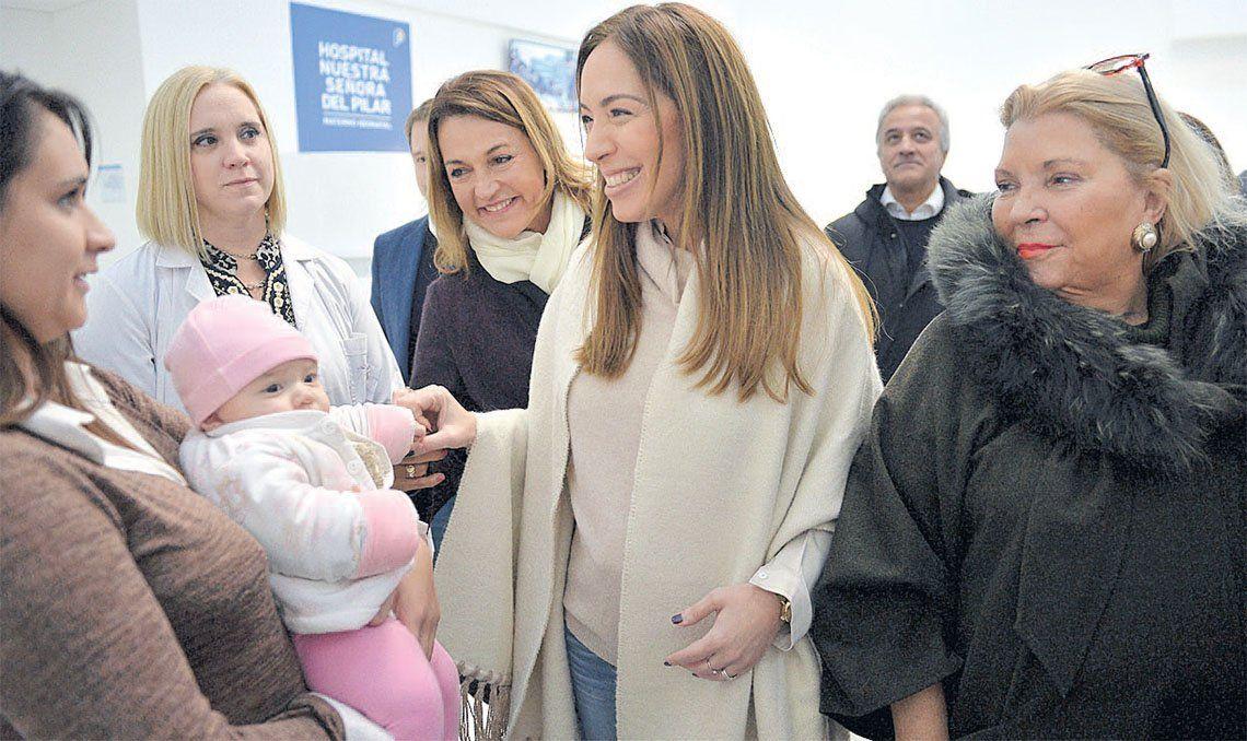 María Eugenia Vidal sumó a Elisa Carrió a su campaña por la reelección