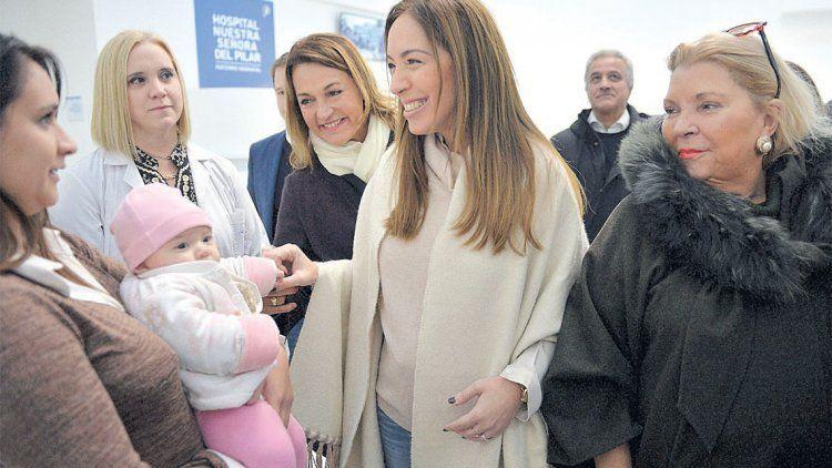 Vidal sumó a Carrió a su campaña por la reelección