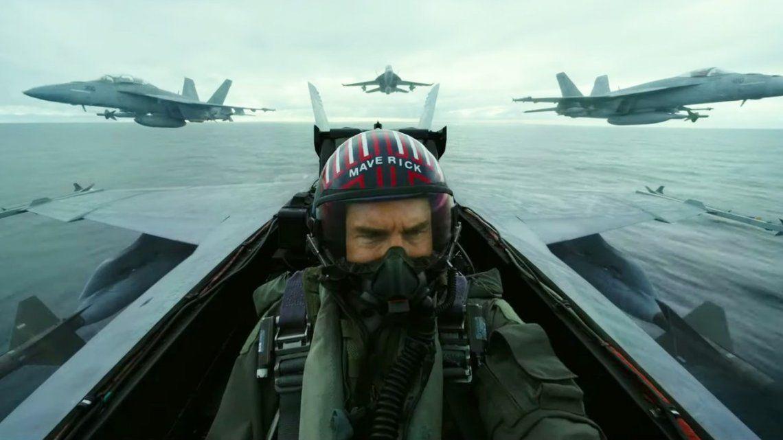 Top Gun: Maverick   Tom Cruise vuelve a ser un ídolo del aire en su primer trailer