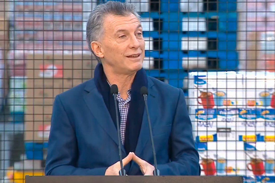 Mauricio Macri: Los argentinos elegimos dejar de patear los problemas hacia adelante
