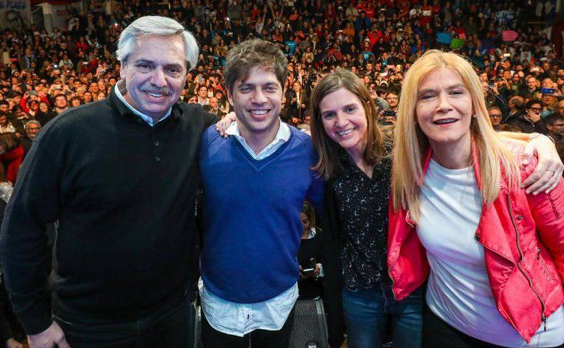 Alberto Fernández ya compartió varios actos con Kicillof