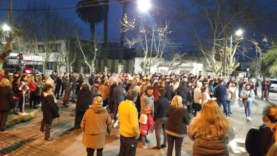 Banfield: vecinos de Adrián Albanese reclamaron justicia y mayor seguridad