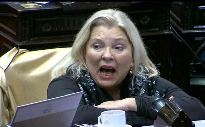 Elisa Carrió le reclamó a Mauricio Macri que suba el mínimo no imponible en el impuesto a las ganancias
