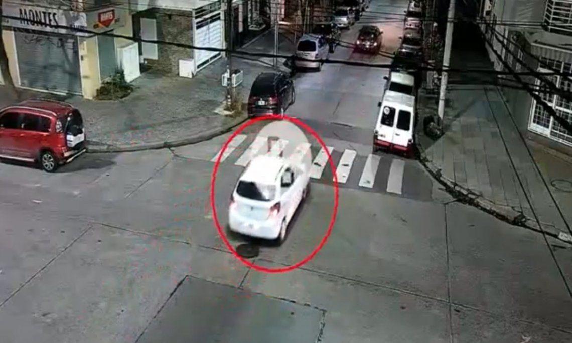 Video: así escaparon los asesinos del pizzero en Lanús
