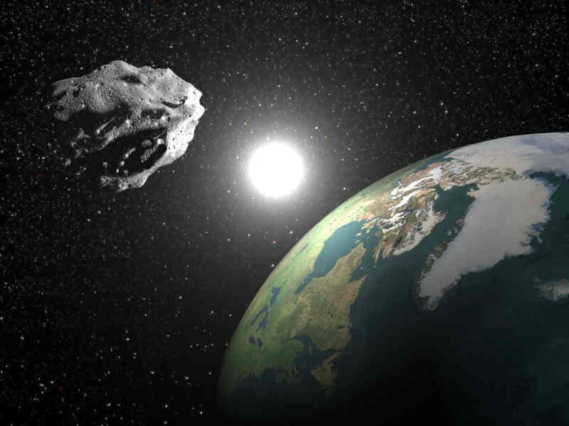 NASA: preocupación por posible colisión de asteroide gigante contra la Tierra