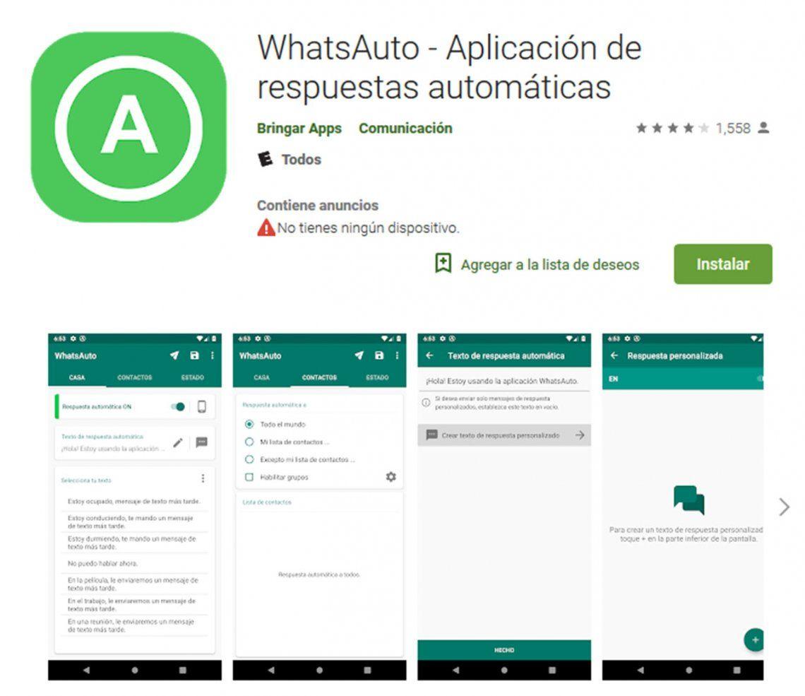 WhatsApp: cómo crear respuestas automáticas