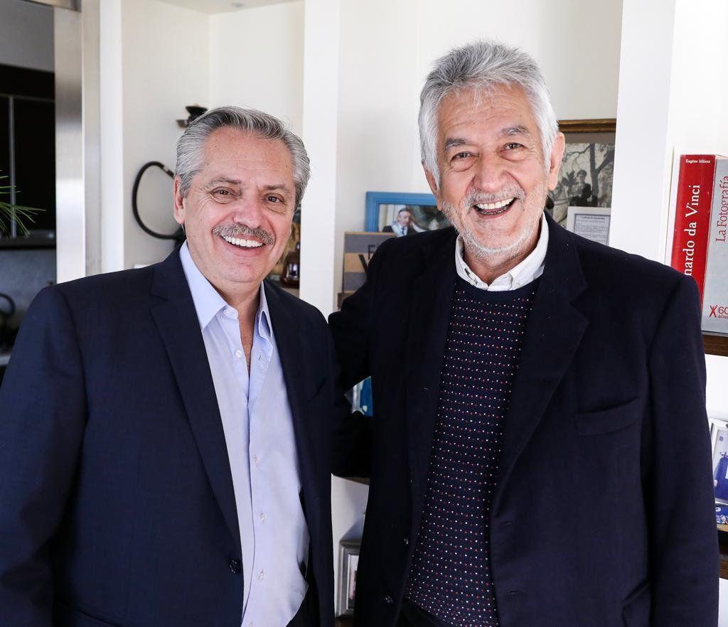 Alberto Fernández se reunió con Rodríguez Saa y Bordet para reforzar la unidad del peronismo