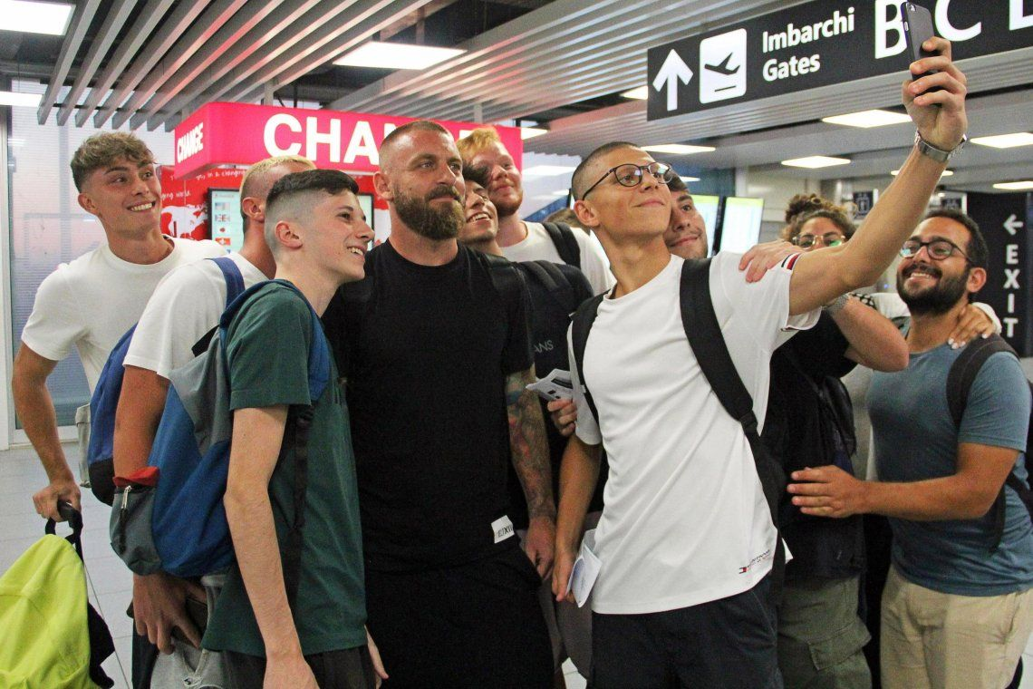 Danielle  De Rossi se subió al avión y ya está viniendo a la Argentina: Es una emoción jugar en Boca