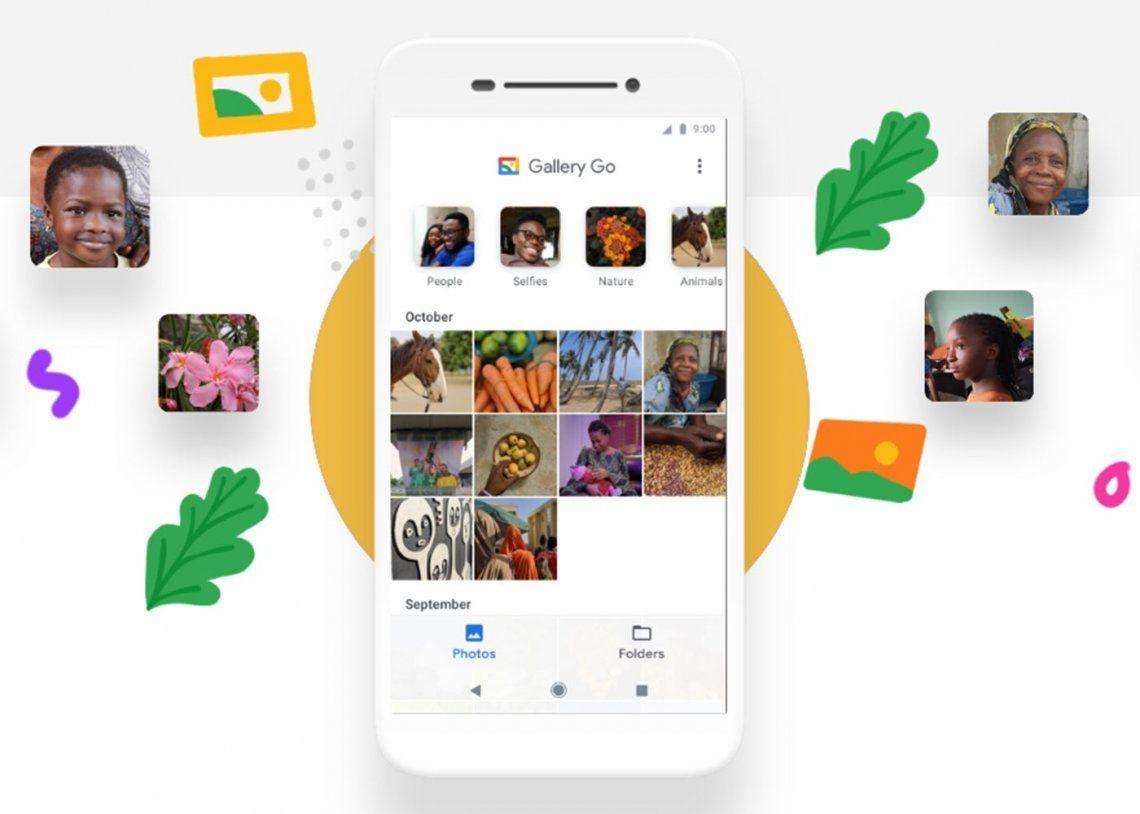 Gallery Go, la nueva herramienta de Google para editar fotos sin internet
