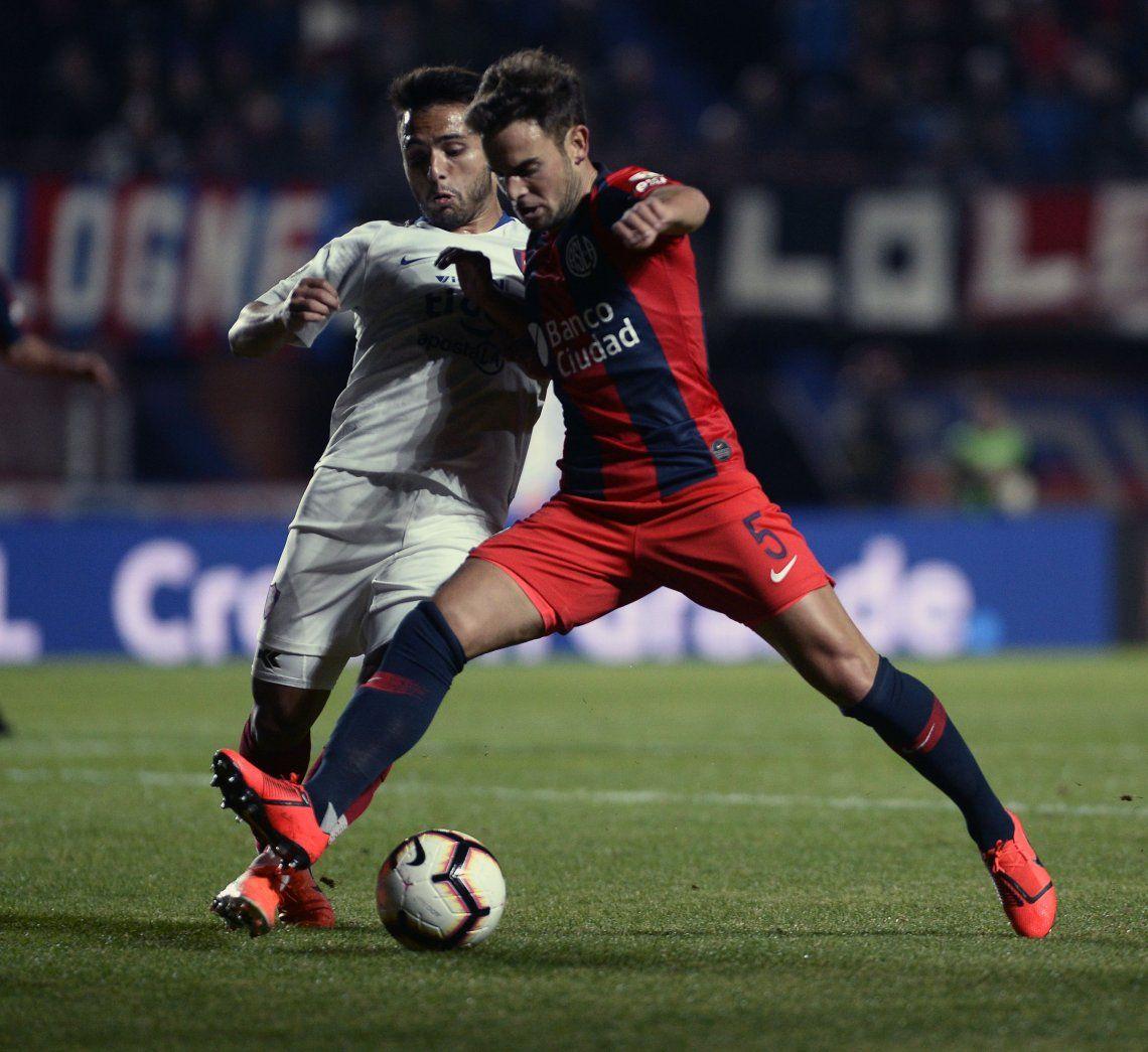 Copa Libertadores: San Lorenzo igualó ante Cerro Porteño en un intenso partido