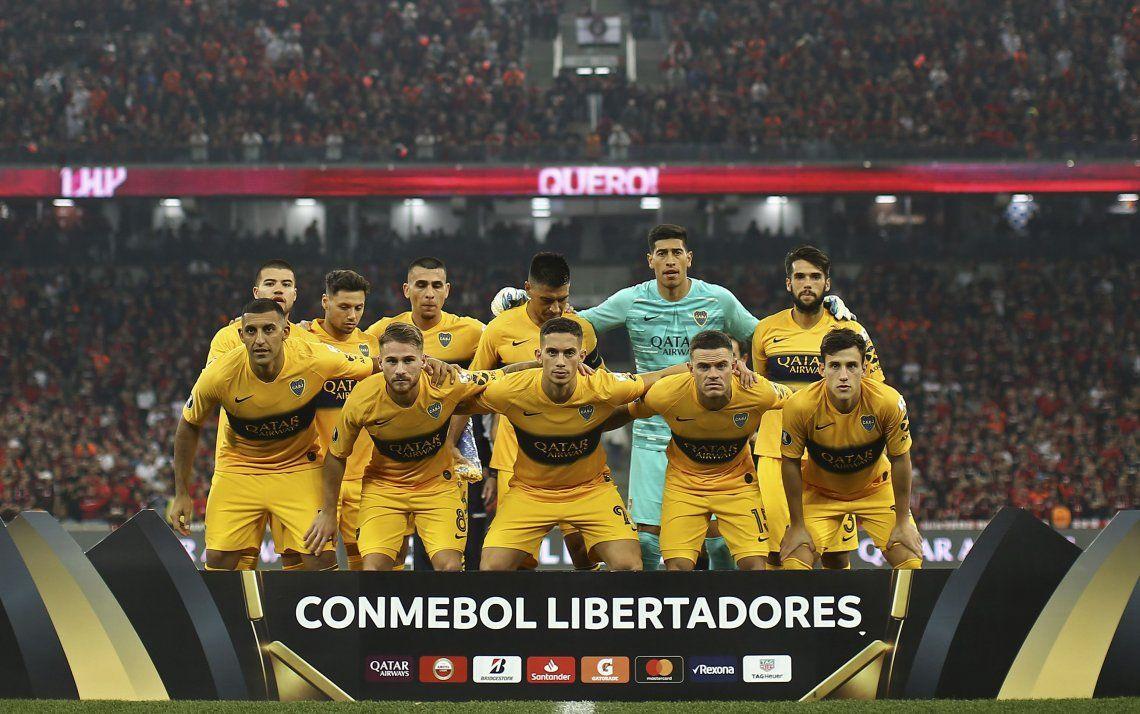 Boca-Paranaense: las mejores fotos del partido